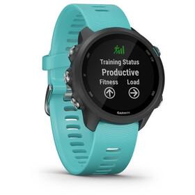 Garmin Forerunner 245 Music GPS Smartwatch, black/aqua